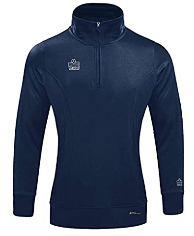 Admiral Athletico Women's 1/4-Zip Pullover Soccer Warm-Up Jacket, Navy, Women's