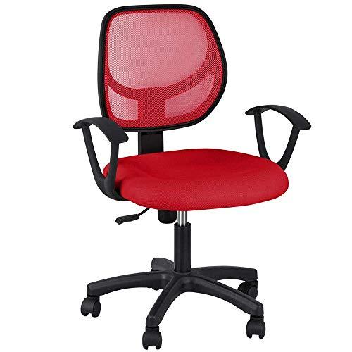 ZHEDAN Ergonomischer Computer-Bürostuhl Mit Rückenlehne Und Lordosenstütze - Verstellbarer Computer-Schreibtischstuhl -