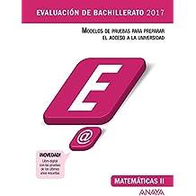 Matemáticas II (Evaluación de Bachillerato 2017)