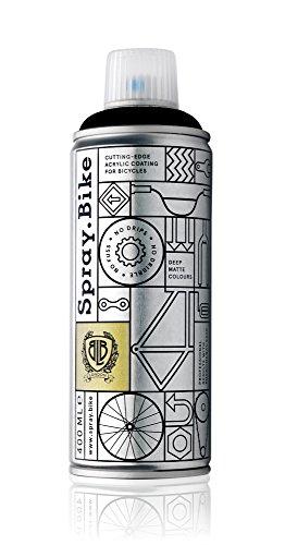 Fahrrad Lackspray in versch. Farben - KEINE GRUNDIERUNG notwendig - Acryllack / Lack Pulverbeschichtung Spray in 400 ml Spraydose, Matt Unisex Street-bikes