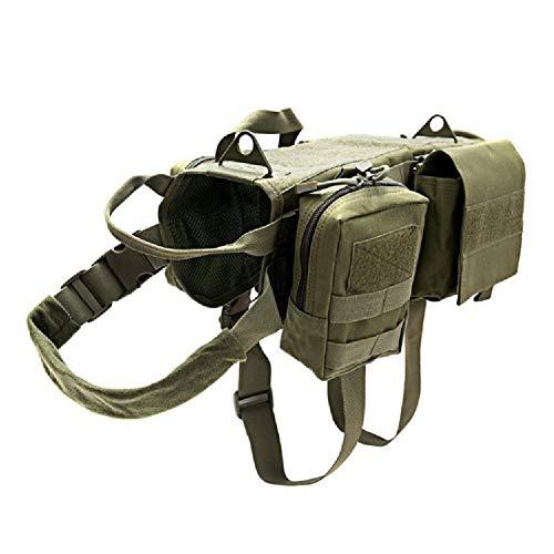 Hunderucksack Große verstellbare Hundesatteltasche für mittelgroße und große Hunde, Haustierrucksack mit Schnellverschluss, tragbarer Hunderucksack