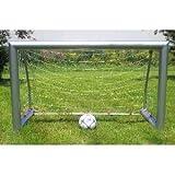 Aluminium Fußballtor faltbar klein / Maße: 120 x 80 x 60 cm / Gewicht: 15kg / Aluminiumrohre: 38mm stark / Soccer-Tor für drinnen + drausse