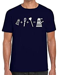 Funky NE Ltd Dalek Equation - Doctor Who Fan Tshirt - 100% Cotton - Small To XXL - 9 Colours - Great Gift Idea by