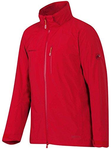 Mammut Runbold HS Jacket Men - Outdoorjacke mit abnehmbarer Kapuze Lava