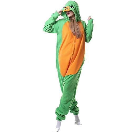 SHANGXIAN Winter Kigurumi Tier Pyjamas Frauen Männer Onesies Erwachsene Hoodie Schildkröte Cosplay Kostüme Weihnachten Nachtwäsche,S