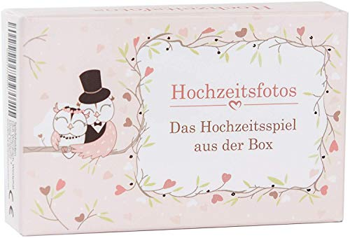 tsfotos: Tolles Foto Game zur Hochzeit - Hochzeitsspiel mit kreativen Fotoaufgaben für die Gäste - Außergewöhnliche Hochzeitsgeschenke ()