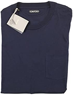 CL - TOM FORD Crew Neck Navy Tee Shirt Size 54 / 44R U.S.