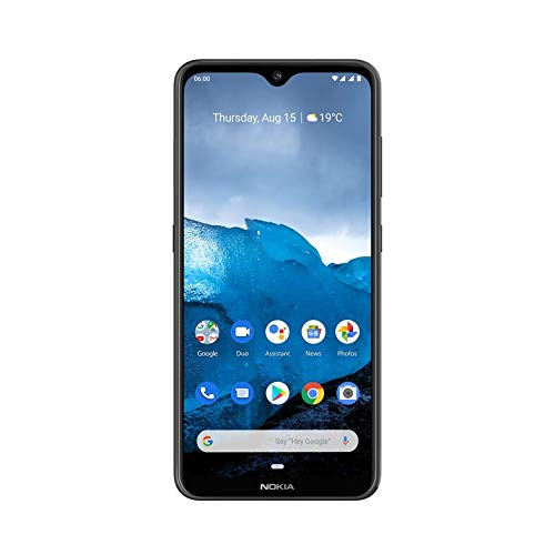 Nokia 6.2 (Ceramic Black, 4GB RAM, 64GB Storage)