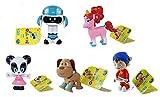 Noddy DreamWorks Toyland Detective - Set of 5 Poseable Figures, Pat-Pat, Bumpy Dog, Fuse & Bling