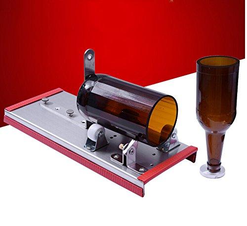 Vidrio Botella de vino cortador de la máquina de corte DIY Kit Craft Recycle Tool