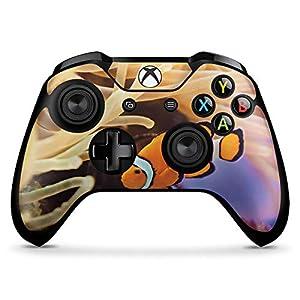 DeinDesign Skin kompatibel mit Microsoft Xbox One X Controller Aufkleber Folie Sticker Anemonenfisch Clownfisch Nemo Fisch