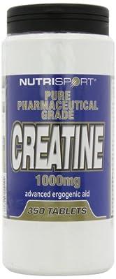 Nutrisport Creatine 350 Tablets from Nutrisport - Aspartame Free