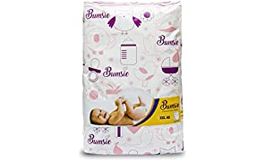 Bumsie Baby Diapers XXL Pant Style (40 Count) 16 kgs and Above