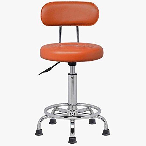 Hocker ZHANGRONG- Selles Barhubstuhl Beautician Friseur Machen Stuhl Labordrehstuhl Drehbarer Sofa (Farbe optional) - Pas déformé (Farbe : 10)