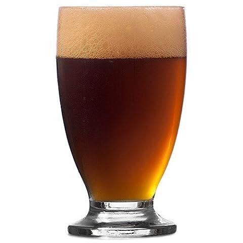 Cin Cin Beer Glasses 12oz / 345ml - Case of 24 - Geordie Schooner Beer Glass