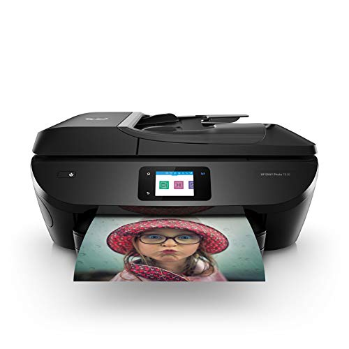 HP ENVY Photo 7830 Multifunktionsdrucker (Instant Ink, Drucker, Scanner, Kopierer, Fax, WLAN, Airprint) inklusive 12 Monate Instant Ink kostenlos