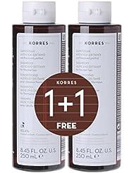 Korres 1+1 Set Aloe und Dittany Shampoo, 500 ml