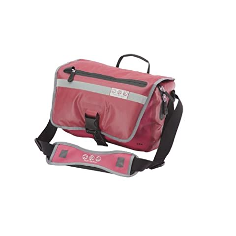 Pacific Outdoor Equipment Sitka Courier Bag (Red, 14 x 4