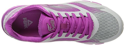 Peak Sport Europe Damen Flyii III Outdoor Fitnessschuhe Grau (Ice Grey Blossom Purple Women)