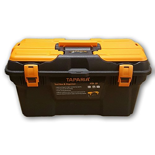 Plastic Tool Box with Organizer (PTB19)