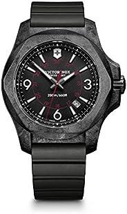 Victorinox Swiss Army Mens Quartz Watch, Analog Display and Rubber Strap - 241777