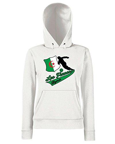 T-Shirtshock - Sweats a capuche Femme WC0004 ALGERIE ALGERIA Blanc