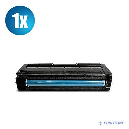 Preisvergleich Produktbild 1x Eurotone Toner für Ricoh SP C 252 sf dn ersetzt 407717 Cyan Blau Druckerpatrone Cartridge