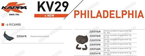 Kappa RICAMBIO Z255755R - INTERNO COMPLETO DI GUANCETTE