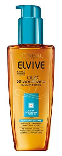 L'oréal paris elvive olio straordinario olio protettivo rigenerante estate, 100 ml