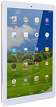 Atouch A102 Tablet 10.1 Inch, Dual Sim, 64GB Storage, 4GB RAM, WiFi, 4G Network, Android Tablet (Gold)