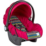 Mee Mee Baby Car Seat Cum Carry Cot with Thick Cushioned Seat (Cherry Red)