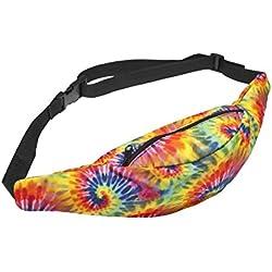 riñonera multicolor tie dye