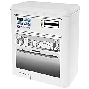 bo te pour tablettes de lave vaisselle pastilles pour lave vaisselles avec motif de lave. Black Bedroom Furniture Sets. Home Design Ideas