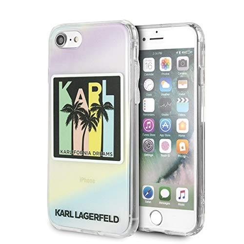 Karl Lagerfeld - Karlifornia Dreams Palms - Apple iPhone 6+/6s+/7+/8+, Sie erhalten 1 Stück (Neuware)