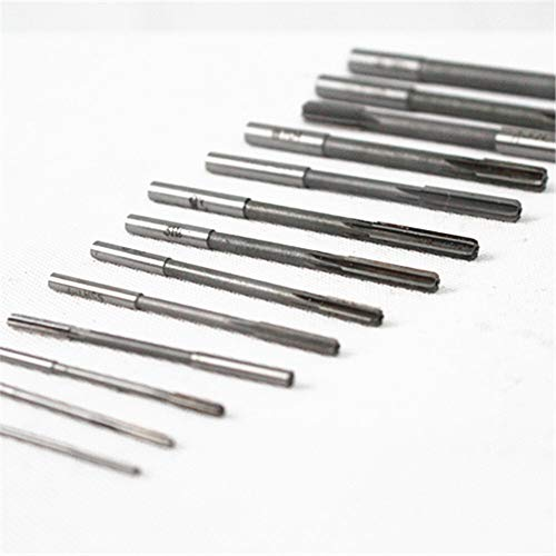 W-Nuanjun-wj 2-20mm HSS Zylinderschaft D4 Maschinenreibahle Spannreibahle (Head Diameter : 14pcs Mixed)