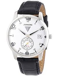 Junkers Damen-Armbanduhr FlatLine Lady Analog Quarz Leder 63351