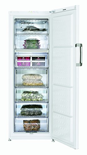 Beko FS 127930 Gefrierschrank/A++/237 L Gefrierteil/Weiß/Vorgefriertablett mit Eiswürfelschale/Antibakterielle Türdichtungen