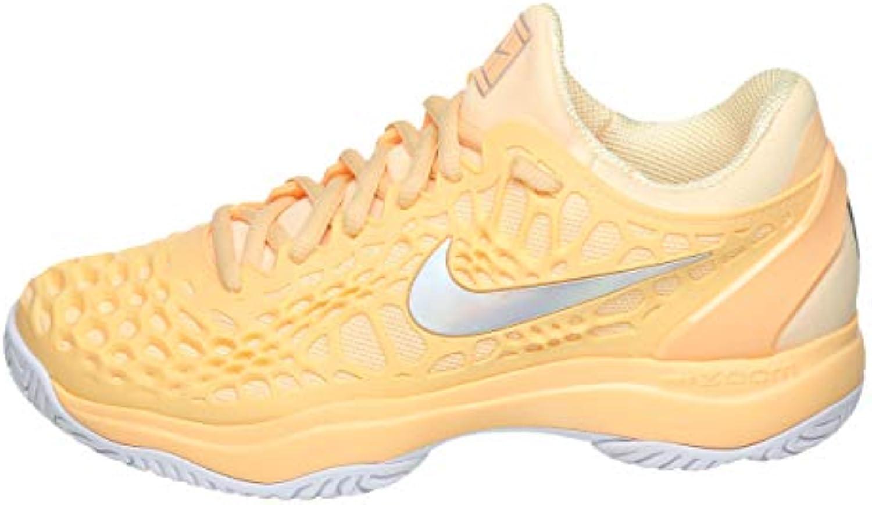Nike, Scarpe da Tennis Donna Arancione Tangerine Tint Metallic argento | Forte calore e resistenza al calore  | Scolaro/Signora Scarpa