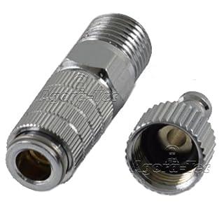 Agora-Tec® Airbrush Quick Disconnector (Schnellkupplung) AT-QD-01, Schnellkupplung zum schnellen wechseln der Airbrushpistolen