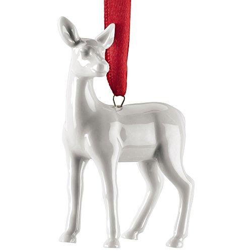 Hutschenreuther Weihnachtsbaumschmuck, Weiß -