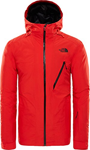 The North Face Herren Descendit Skijacke rot L
