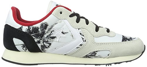 Converse Auckland Racer Ox Ny/suede Pri, Sneakers mixte adulte Bianco