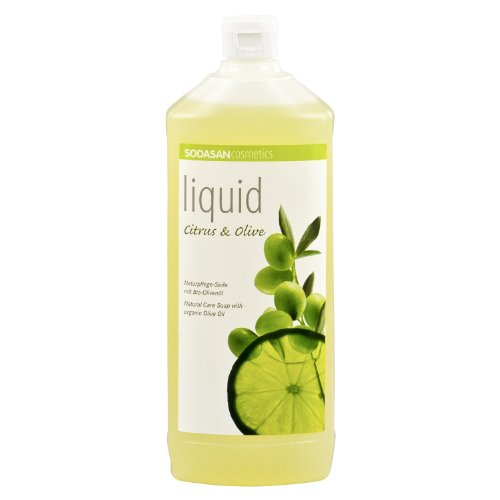 6 x 1 Liter SODASAN LIQUID Citrus-Olive -