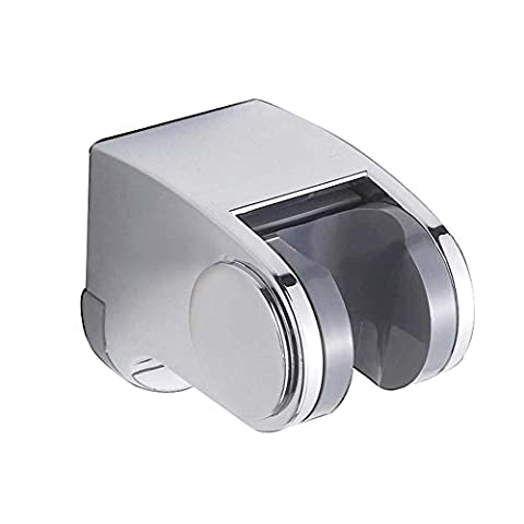 Badezimmer Handheld Duschkopf Halter Wandhalterung Halterung verstellbar Handbrause Dusche Arm Halterung–Chrom (1,25 Rod Set)