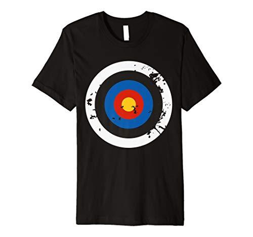 eßen Ziel Bullseye Halloween-Kostüm T-Shirt ()