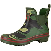 Evercreatures Ankle Wellington Boots - Camouflage Design - UK Size 8