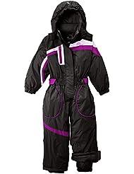 Peak Mountain FLUGI/2 – 8 de esquí para niña, niña, color Marrón - marrón, tamaño FR : 5 ans (Taille Fabricant : 5)
