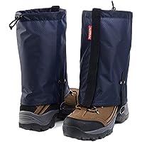 Black Temptation Impermeable Senderismo/Escalada / Camping/Zapatos de esquí Gaiters - M Navy