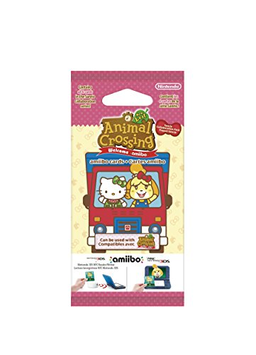 Animal Crossing : New Leaf - Welcome Pack Sanrio - Paquet de 6 Cartes
