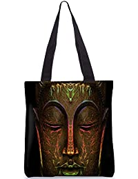 Snoogg Tote Bag 13.5 X 15 Inches Shopping Utility Tote Bag Made From Polyester Canvas - B01GCIKYBI